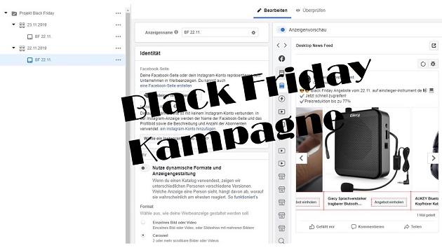 Black Friday Kampagne