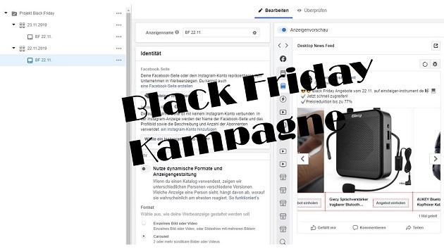 Black Friday Kampagne
