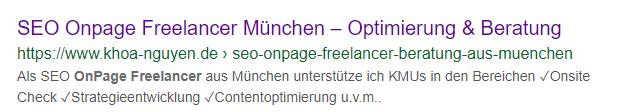 SEO Optimierung für Google