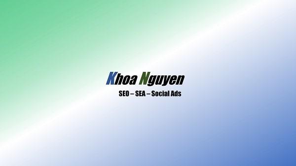 Khoa Nguyen Online Marketing Beratung