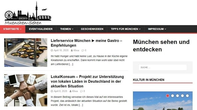 Projekt München sehen