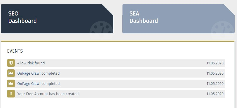 Performance Suite Dashboard