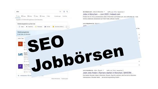 SEO für Jobbörsen & Stellenanzeigen