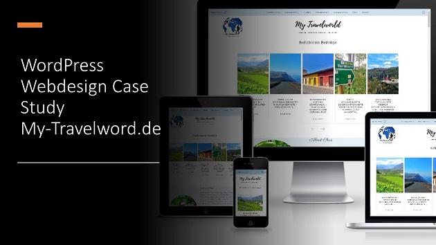 WordPress Webdesign Case Study