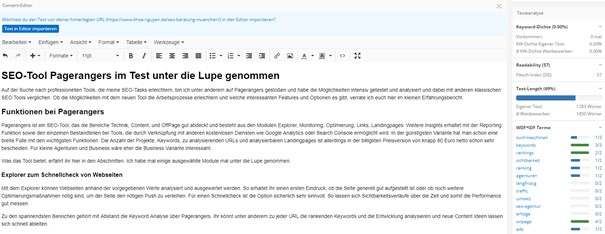Pagerangers Assistent