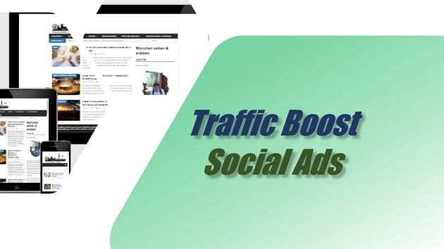 Traffic Boost Social Ads für Münchner Unternehmen