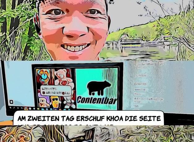 Contentbär Comic