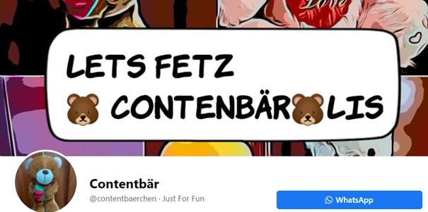 Contentbär Facebook